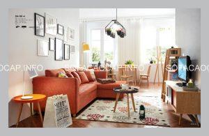 Bạn cũng có thể lựa chọn màu cam, hồng, vàng cho ghế sofa giường đa năng