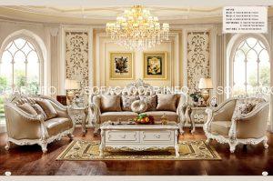 Choáng ngợp vẻ đẹp của sofa cổ điển nhập khẩu mang đậm phong cách quý tộc