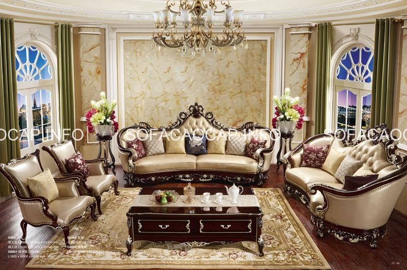 Sofa cổ điển thể hiện sự đẳng cấp trong phong cách của gia chủ