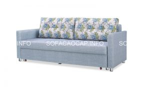 Sofa giường bọc vải sẽ là điểm nhấn hoàn hảo cho phòng khách của bạn