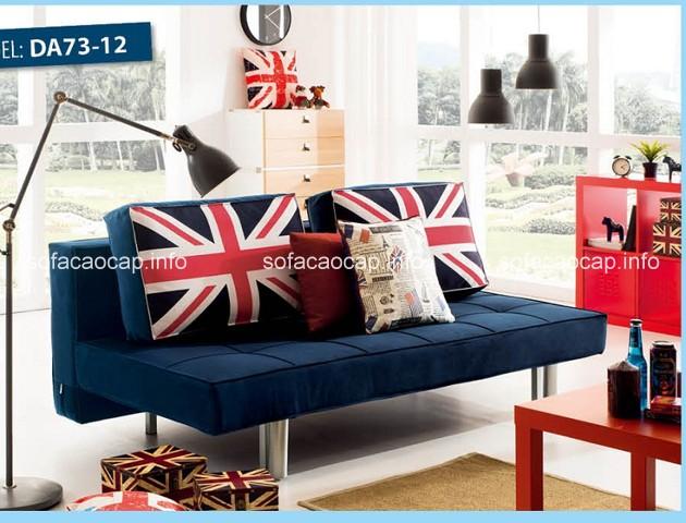 ghế sofa vải là một giải pháp thích hợp cho những gia đình có không gian sống nhỏ hẹp