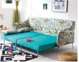 Gam màu xanh mang đến sự nhẹ nhàng cho căn phòng