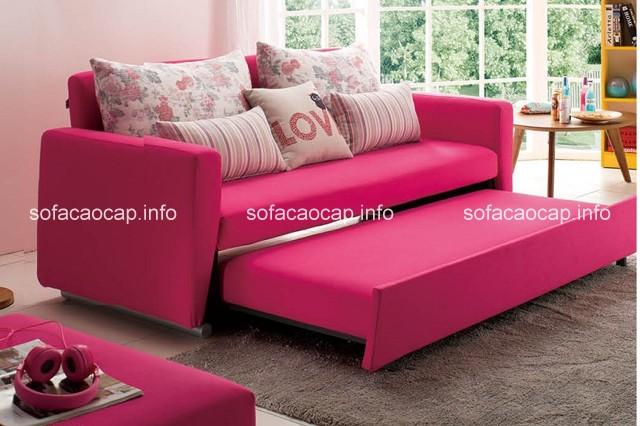 nhiều gia đình đã ưu tiên lựa chọn sản phẩm sofa giường đa năng để làm sofa cho phòng khách đẹp