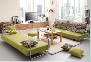 Lý do vì sao nên mua ghế sofa giường cho phòng khách gia đình