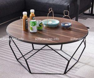 Chọn bàn trà chất liệu gỗ như thế nào cho phòng khách sang trọng