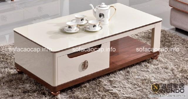 cách kết hợp bàn trà sofa với bộ ghế sofa phòng khách sao cho hợp lý