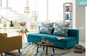 ghế sofa giường đẹp ngày nay vừa mang tới cảm giác sang trọng cho không gian mà lại vừa mang tới sự mềm mại