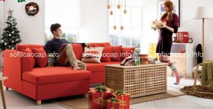 sofa góc đơn giản bạn có thể thay đổi để khiến căn phòng trở nên mới lạ và ấn tượng hơn