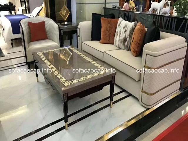 Nên chọn mua sofa nhập khẩu cao cấp cho phòng khách sang trọng