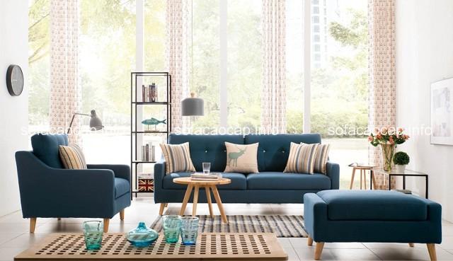 ghế sofa làm từ chất liệu vải nỉ đang là sự lựa chọn được ưa chuộng nhất trên thị trường hiện nay